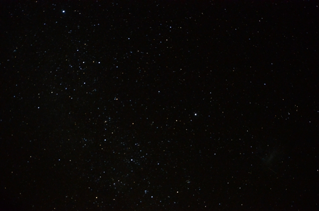 African nights sky