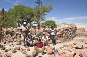 EHRA volunteers group photo