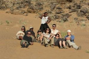 Volunteer group foto