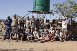 Volunteers group photo