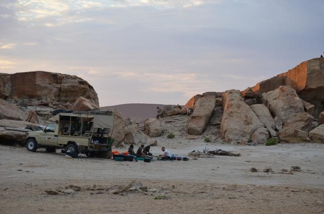 hyena camp