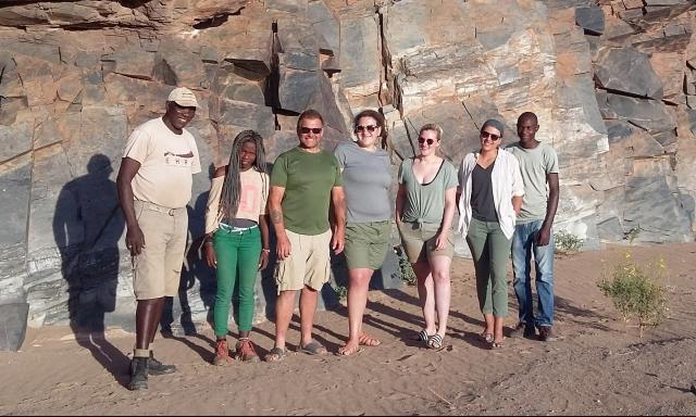 ehra volunteer 2018 desert elephant namibia