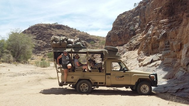 ehra patrol lunch time ugab river namibia