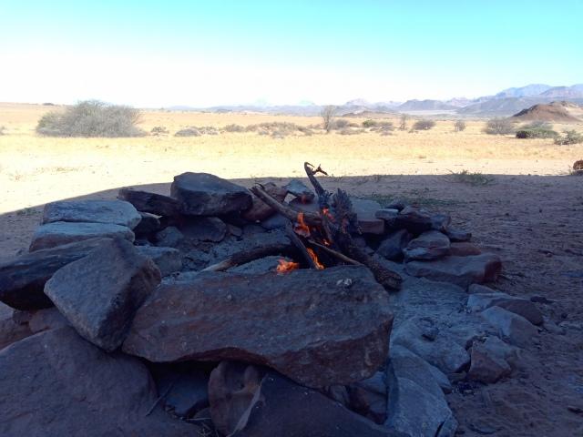 Campfire Damaraland